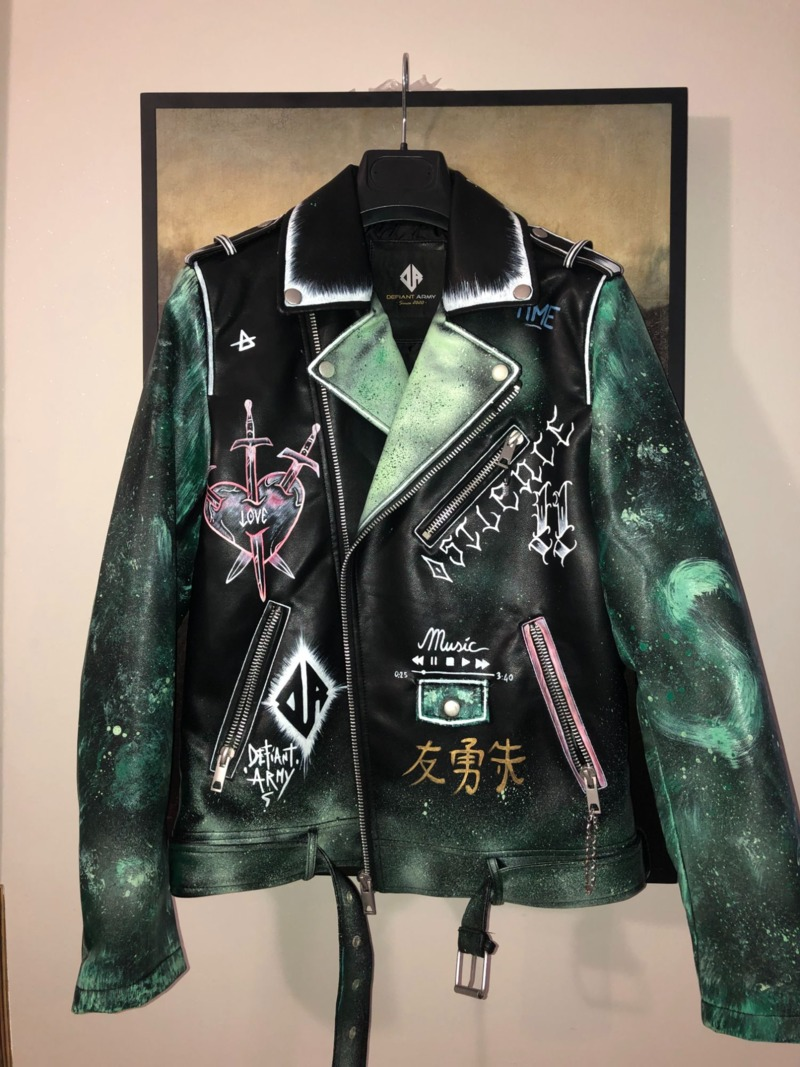green-solid-jacket